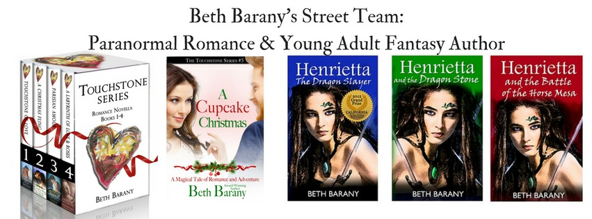 Beth Barany's young adult fantasy and paranormal romance on Amazon.com.